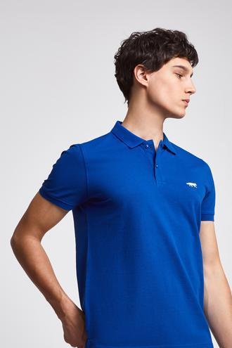 Twn Slim Fit Saks Mavi Pike Dokulu T-shirt - 8682060049889 | D'S Damat