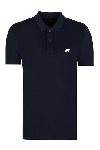 Twn Slim Fit Lacivert Düz T-Shirt - 8682060348814 | D'S Damat