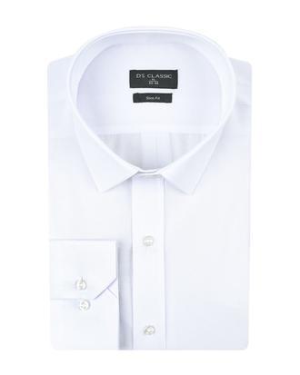 Ds Damat Slim Fit Beyaz Gomlek - 8682060463401 | D'S Damat