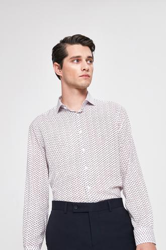 Twn Slim Fit Beyaz Gomlek - 8682060097811 | D'S Damat