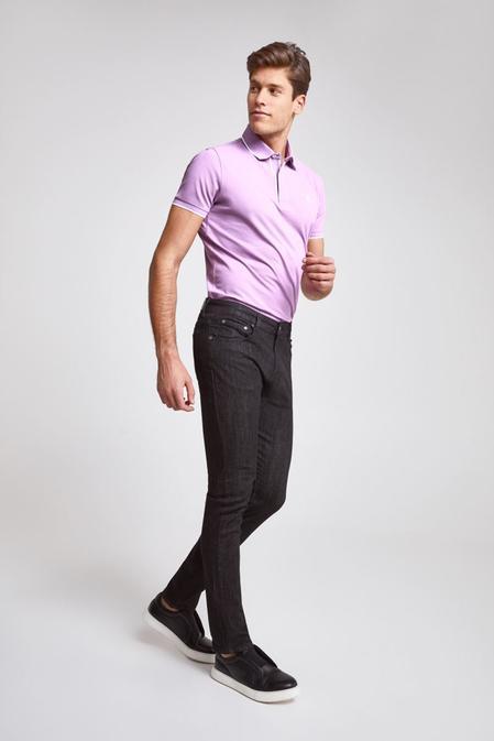 Ds Damat Slim Fit Siyah Düz Denim Pantolon - 8682445331011   D'S Damat