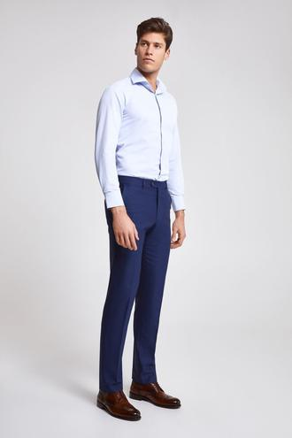 Ds Damat Slim Fit Lacivert Düz Kumaş Pantolon - 8682060078209 | D'S Damat