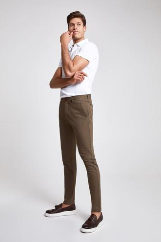 Twn Slim Fit Vizon Çizgili Chino Pantolon - 8682445480238 | D'S Damat