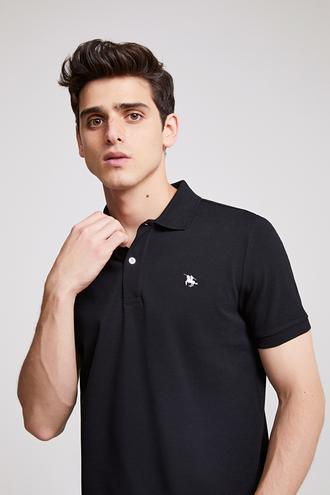 Ds Damat Regular Fit Siyah T-shırt - 8682060786326 | D'S Damat