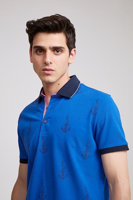 Ds Damat Regular Fit Saks Mavi T-shirt - 8681779113706 | D'S Damat