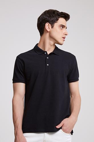 Ds Damat Regular Fit Siyah T-shirt - 8681779765349 | D'S Damat