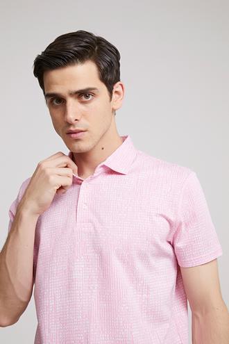 Ds Damat Regular Fit Pembe T-shirt - 8681779342878 | D'S Damat