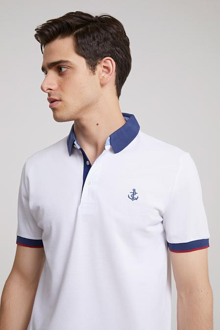 Ds Damat Regular Fit Beyaz Düz T-shirt - 8681779114192 | D'S Damat