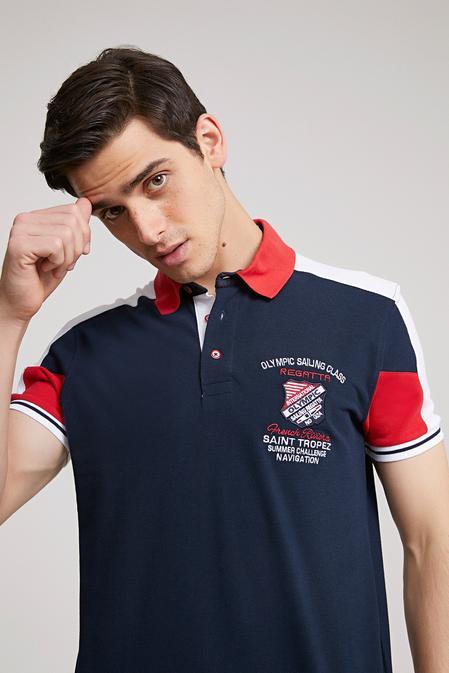 Ds Damat Regular Fit Lacivert T-shirt - 8681779340294   D'S Damat