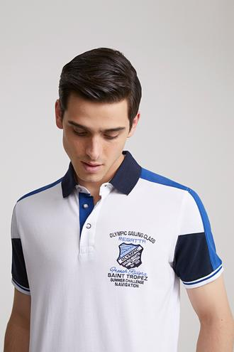Ds Damat Regular Fit Beyaz T-shirt - 8681779340256 | D'S Damat