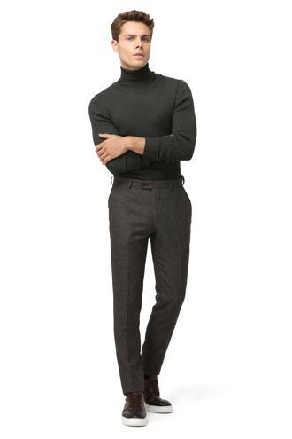 Twn Slim Fit Kahve Kumaş Pantolon - 8681779657408 | D'S Damat