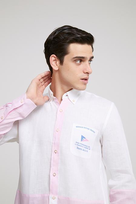 Ds Damat Regular Fit Beyaz Gömlek - 8681778304686 | D'S Damat