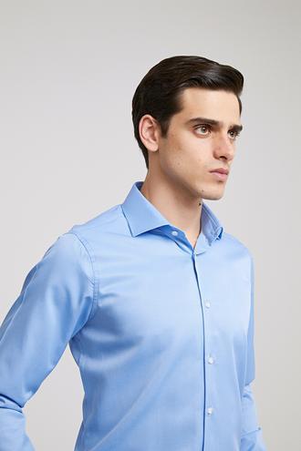 Ds Damat Slim Fit Mavi Gömlek - 8682060771490 | D'S Damat