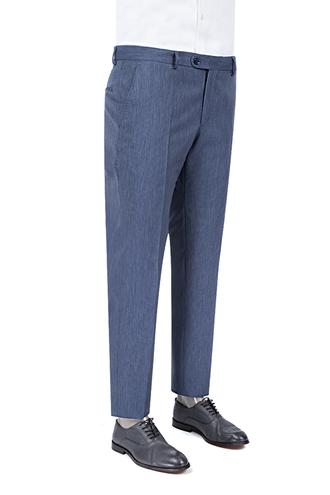 Ds Damat Slim Fit Lacivert Kumaş Pantolon - 8681779060017 | D'S Damat