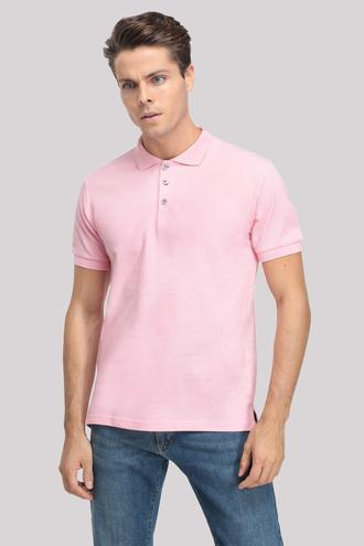 Ds Damat Regular Fit Pembe T-shırt - 8681779765882 | D'S Damat