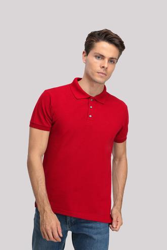 Ds Damat Regular Fit Kırmızı T-shırt - 8681779765653 | D'S Damat