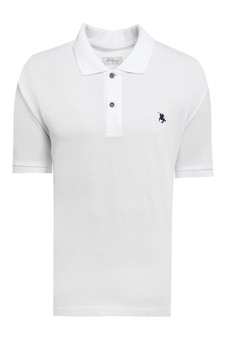 Ds Damat Büyük Beden Beyaz T-shirt - 8682060801111 | D'S Damat