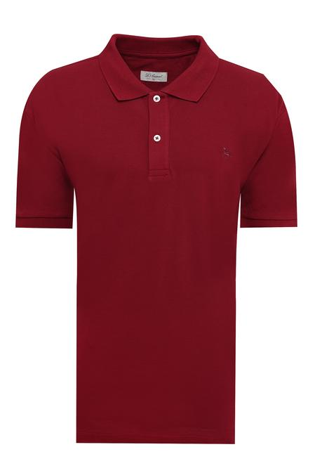 Ds Damat Büyük Beden Bordo T-shirt - 8682060801173 | D'S Damat