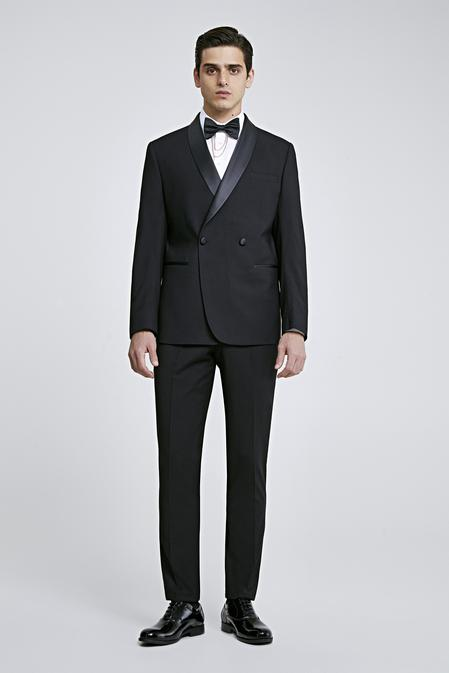 Twn Slim Fit Slim  Fit Siyah Takim Elbise - 8682060637536 | D'S Damat