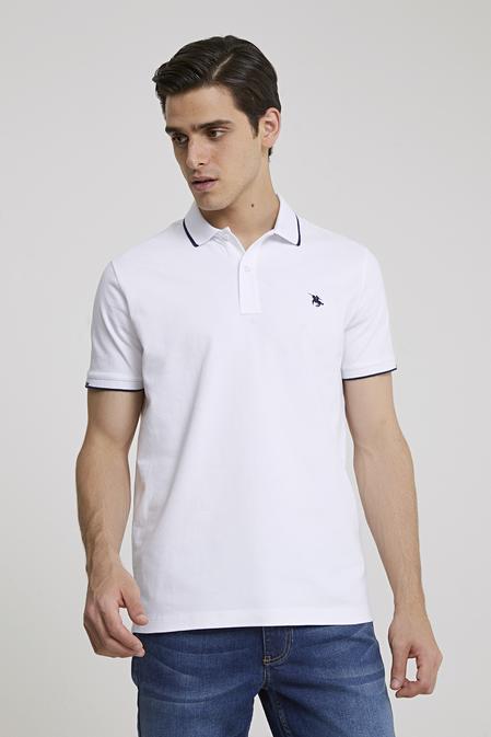 Ds Damat Regular Fit Beyaz T-shirt - 8682060800817   D'S Damat