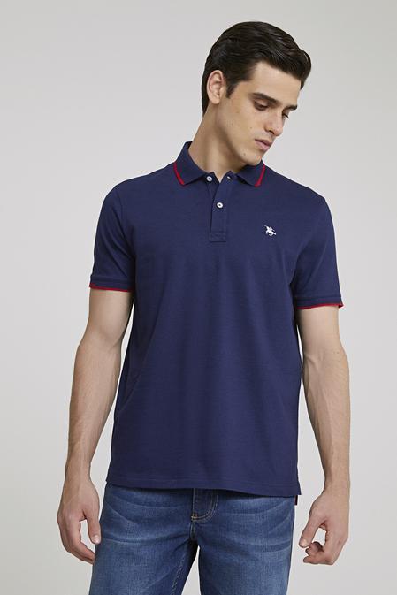 Ds Damat Regular Fit Lacivert T-shirt - 8682060800619   D'S Damat