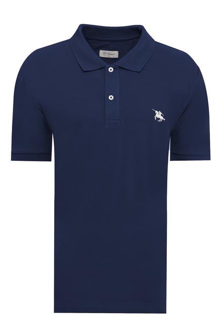 Ds Damat Büyük Beden Lacivert T-shirt - 8682060801098 | D'S Damat