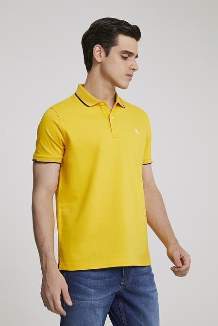 Ds Damat Regular Fit Sarı T-shirt - 8682060800725 | D'S Damat