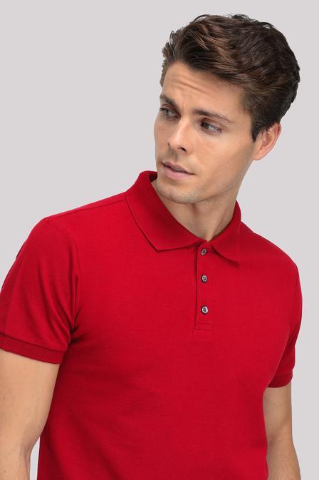 Ds Damat Regular Fit Kırmızı T-shirt - 8681779765653 | D'S Damat