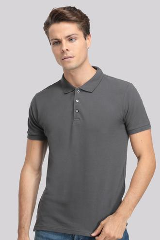 Ds Damat Regular Fit Gri T-shirt - 8681779765493 | D'S Damat