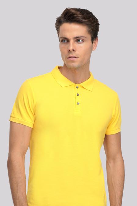 Ds Damat Regular Fit Sarı T-shirt - 8681779765608 | D'S Damat