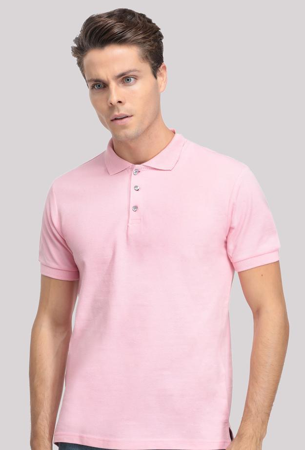 Ds Damat Regular Fit Pembe T-shirt