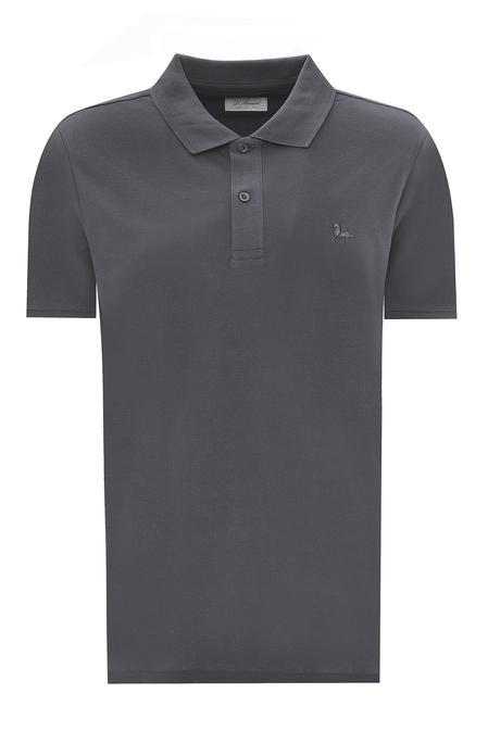 Ds Damat Büyük Beden Antrasit T-shirt - 8682060801142 | D'S Damat
