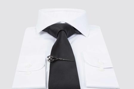 Ds Damat Black Nıkel Kravat İğnesi - 8681778714713 | D'S Damat