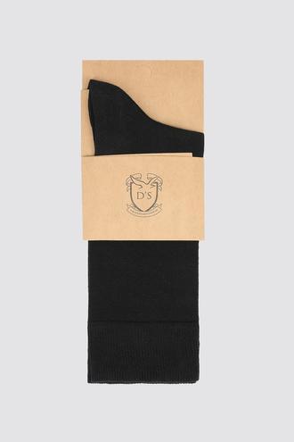 Ds Damat Siyah Çorap - 8681779909651 | D'S Damat