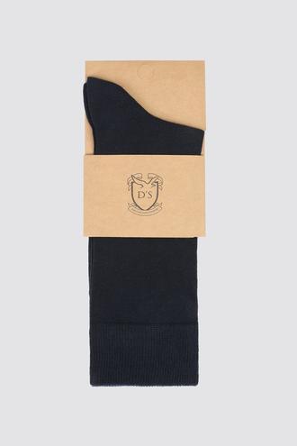 Ds Damat Lacivert Çorap - 8681779909866 | D'S Damat