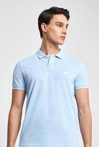 Twn Slim Fit Mavi Pike Dokulu T-shirt - 8681779873822 | D'S Damat