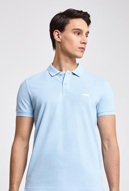 Twn Slim Fit Mavi Pike Dokulu T-shirt - 8682060050137   D'S Damat