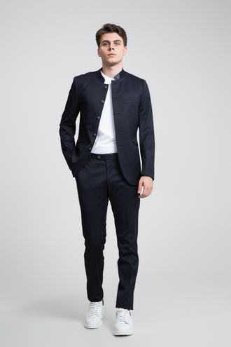 Twn Slim Fit Slim Fit Lacivert Düz Takım Elbise - 8681778900468 | D'S Damat