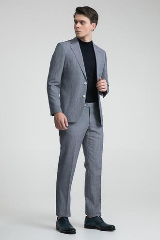 Ds Damat Slim Fit Slim Fit Kahve Desenli Takım Elbise - 8681778939932 | D'S Damat