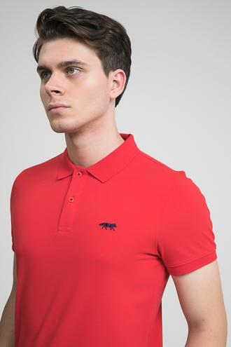 Twn Slim Fit Kırmızı Pike Dokulu T-shirt - 8682060349200 | D'S Damat