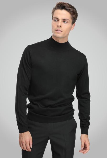 Ds Damat Regular Fit Siyah Kazak - 8682060517906   D'S Damat