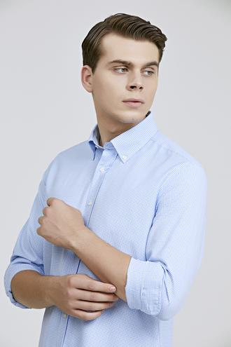 Ds Damat Regular Fit Mavi Gömlek - 8682060802521   D'S Damat