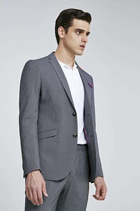 Twn Slim Fit Siyah Düz Takım Elbise - 8682060792167 | D'S Damat