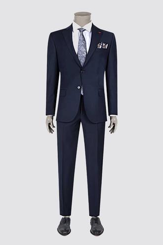 Ds Damat Regular Fit Slim Fit Lacivert Düz Takım Elbise - 8682060022141   D'S Damat