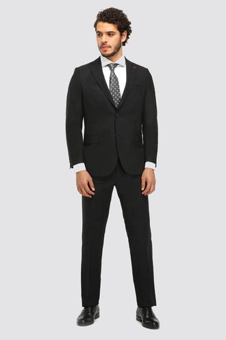 Ds Damat Comfort Fit Comfort Siyah Düz Takım Elbise - 8682060048387 | D'S Damat