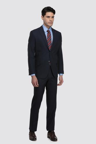 Ds Damat Comfort Fit Comfort Lacivert Düz Takım Elbise - 8682060155610 | D'S Damat