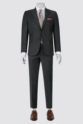 Ds Damat Comfort Fit Comfort Antrasit Düz Takım Elbise - 8682060155818 | D'S Damat