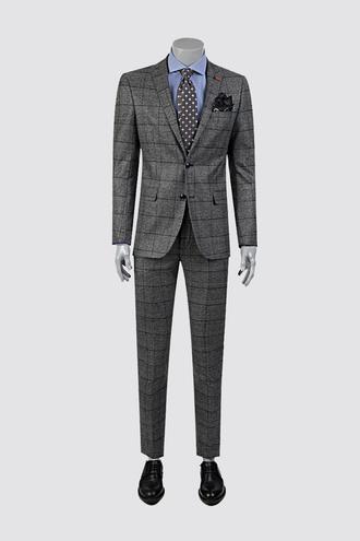 Twn Slim Fit Slim Fit Antrasit Takım Elbise - 8681778715840   D'S Damat