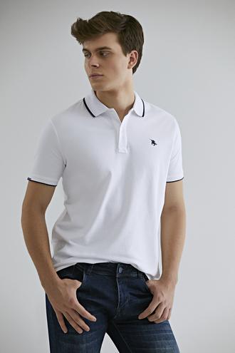 Ds Damat Regular Fit Beyaz T-shirt - 8682060800817 | D'S Damat