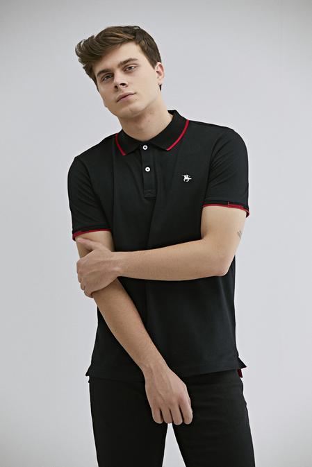 Ds Damat Regular Fit Siyah T-shirt - 8682060800589   D'S Damat